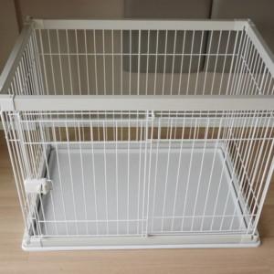 <犬ケージ>3回目の買い替え・組み立て簡単「アイリスオーヤマ製」