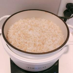<バーミキュラ>ライスポットで美味しいご飯を炊く